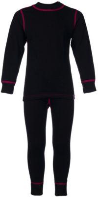 Комплект термобелья OLDOS ACTIVE для девочки - черный