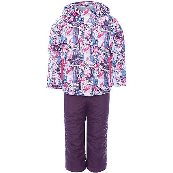 Комплект: куртка и полукомбинезон Юта JICCO BY OLDOS для девочки