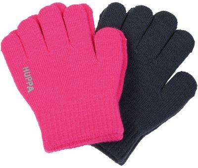 Перчатки LEVI 2 Huppa - фуксия
