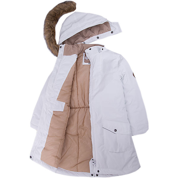 Куртка зимняя белая Москва