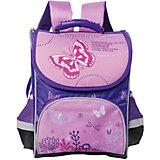 Ранец Premium box полужесткий с дизайном Бабочки