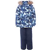 Комплект: куртка и брюки WINTER Huppa для мальчика