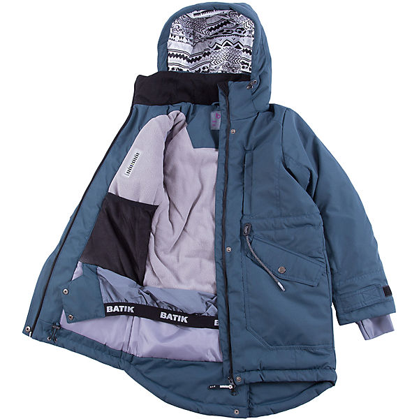 Комплект: куртка и полукомбенизон наушниками Batik для девочки