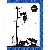 """Тетрадь А5 60листов """"Flex Book"""" Animals син"""