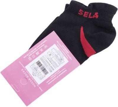 Носки SELA для девочки - черный