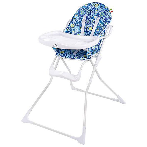 Стульчик для кормления Simple, Sweet Baby, голубой