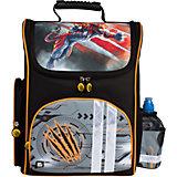 Ранец жесткокаркасный BRAUBERG, для начальной школы, мальчик, Тигр, 20 литров, 38*29*16 см
