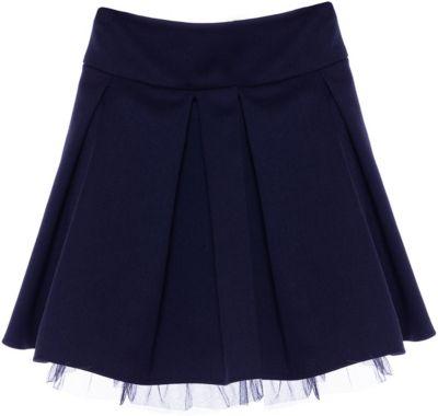 Юбка Смена для девочки - синий