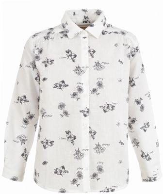 Блузка Button Blue для девочки - белый