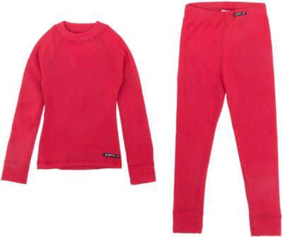 Комплект термобелья Lynxy для девочки - красный