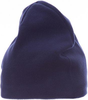 Флисовая шапка Button Blue для мальчика - темно-синий