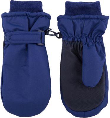Варежки BUTTON BLUE - темно-синий
