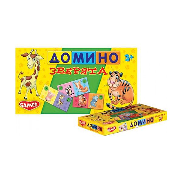 "Настольная игра ""Домино Зверята"" Dream makers"