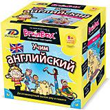 """Настольная игра Сундучок знаний """"Учим английский"""" BrainBox"""