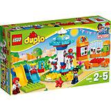 LEGO DUPLO 10841: Семейный парк аттракционов