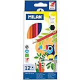 "Карандаши ""211"" 12 цветов Milan"