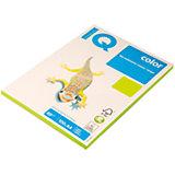 """Бумага """"IQ Color neon"""" А4 100 листов IQ, зеленый неон"""