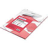 Бумага цветная intensive А4 50 листов OfficeSpace, розовый