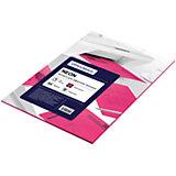 Бумага цветная neon А4 50 листов OfficeSpace, малиновый