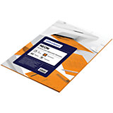 Бумага цветная neon А4 50 листов OfficeSpace, оранжевый