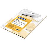 Бумага цветная pale А4 50 листов OfficeSpace, оранжевй