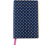 Записная книжка Феникс+, синий/желтый