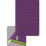 Записная книжка Феникс+, фиолетовый/оранжевый