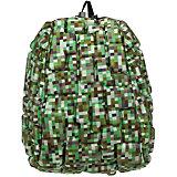 """Рюкзак """"Blok Half"""" Digital Green, цвет зеленый мульти"""