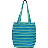 Сумка Premium Tote/Beach Bag, цвет голубой/салатовый