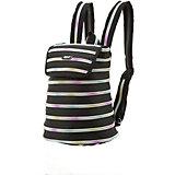 Рюкзак ZIPPER BACKPACK, цвет черный/мульти