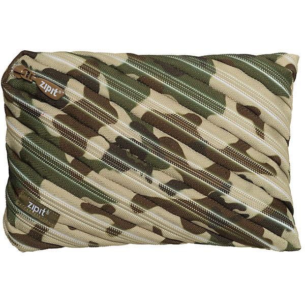 Пенал-сумочка CAMO JUMBO POUCH, цвет хаки камуфляж
