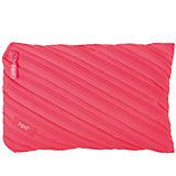 Пенал-сумочка NEON JUMBO POUCH, цвет розовый