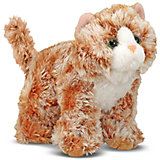 """Мягкая игрушка Melissa&Doug """"Рыжий кот Трикси"""", 13 см"""