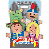 "Набор мягких кукол на руку Melissa&Doug ""Замок"", 4 шт"