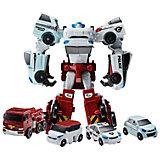 "Робот-трансформер Yuong toys ""Мини-Тобот"", Кватран"
