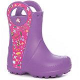 Резиновые сапоги Handle It Graphic Boot K для девочки