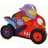 """3D-пазл-раскраска """"Мотоциклист"""" UGEARS"""