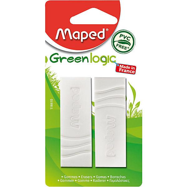"Ластик Maped ""Green Ljgic"" 2 шт."