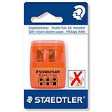 Точилка Staedtler 2 отверстия, оранжевый неон