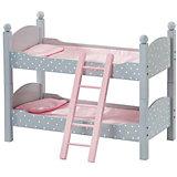 "Двухъярусная кроватка для кукол Kids4kids ""Мир Принцесс"""