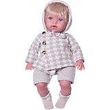 Кукла Vestida de Azul Тонино-инфант в костюме для прогулки