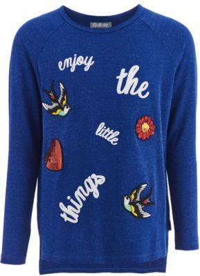 Джемпер Gulliver для девочки - синий