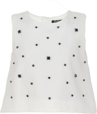 Блузка Gulliver для девочки - белый
