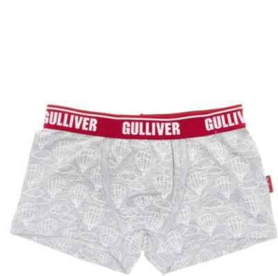 Трусы-боксеры Gulliver для мальчика - серый