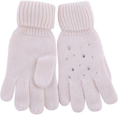 Перчатки Gulliver для девочки - белый