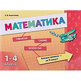 Математика 1-4 классы, Коротяева ЕВ