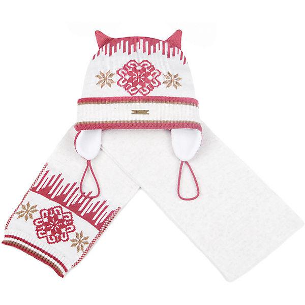 Комплект: шапка и шарф Gakkard для девочки