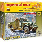 """Сборная модель Звезда """"БТР М3 Скаут"""", 1:35 (подарочный набор)"""
