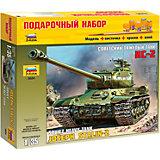 """Сборная модель Звезда """"Советский танк Ис-2"""", 1:35 (подарочный набор)"""