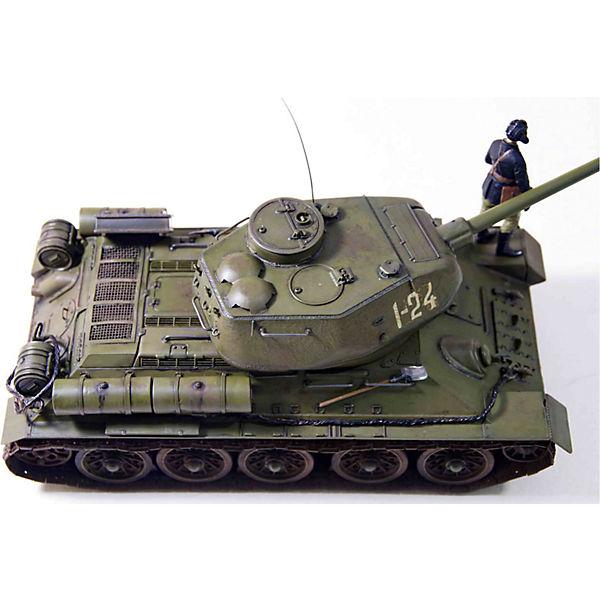 """Сборная модель Звезда """"Советский танк Т-34/85"""", 1:35 (подарочный набор)"""
